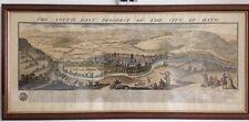 Lithographie vue de Bath/Large LithographyThe southeast of Bath 18th