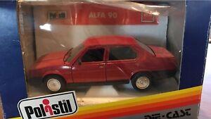 Polistil Alfa 90 #2124 1:25 Model Car in box