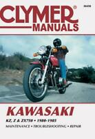 Kawasaki KZ, Z and ZX750 1980-1985 Repair Manual