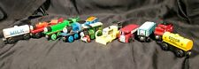 Thomas the Tank Engine Wooden Train Lot FREE SHIPPING TIDMOUTH HENRY FERDINAND