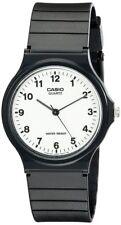 Casio Men's Analog Quartz Black Resin Watch MQ24-7B
