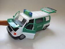 Volkswagen VW T4 Carvelle POLIZEI police polis politi, Schabak in 1:43 boxed!