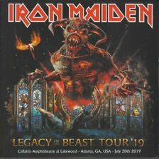 IRON MAIDEN - LEGACY OF THE BEAST TOUR 2019 ATLANTA - 2CD DIGISLEEVE - NEW ONE
