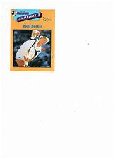 Sammelkarten Micky Mouse Tennis-Superstars,Boris Becker,Wimbledon,Davis-Cup