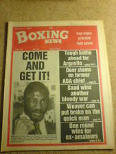 BOXING NEWS - 1 Oct 1981 - MARVIN HAGLER