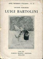 Giuseppe Marchiori = LUIGI BARTOLINI Arte Moderna N.27