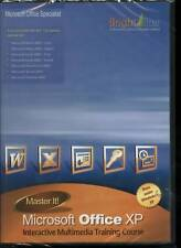 Master IT! Microsoft Office XP 2002  Learn training NEW