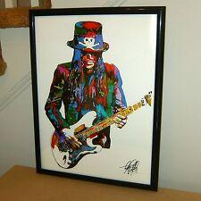 Mick Mars Motley Crue Guitar Glam Hard Rock Music Poster Print Wall Art 18x24