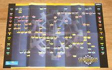 Civilization call to power tabla póster doble cara dobladas 42x59 cm