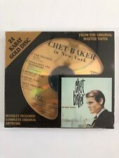 Sealed Uncut Audiophile DCC GOLD CD - CHET BAKER In New York