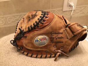 "Nokona CM-275K Pro 33"" Kangaroo Baseball Softball Catchers Mitt Left Hand Throw"
