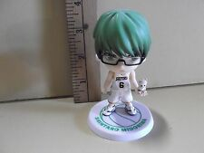 "#A866 Unknown Anime 4""in Shintaro Midorima #6 Green Hair w/Friend"