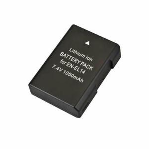 Rechargable Battery for Nikon D3400, D3500, D5500 , D5600 - EN-EL14, EN-EL14a