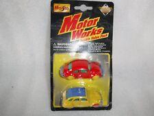 Maisto  Collector Series  Beetle & Citroen Motor Works Double Value Pack Unused