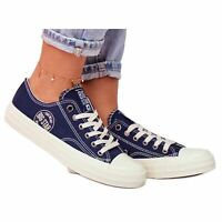 Sneakers Big Star da donna blu navy FF274125 marina multicolore
