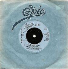 "AGNETHA FALTSKOG ABBA THE HEAT IS ON + MAN 7"" SINGLE 1983"