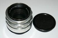 EXC! Carl Zeiss Jena Biotar 2/58 M42 screw mount Rare First Spring Version