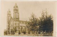 ALTON IA – St. Mary's Church Real Photo Postcard rppc