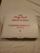 Danbury Mint - Shirley Temple Dress Up Doll Collection - Captain January - New