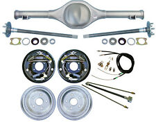 """CURRIE 64-66 MUSTANG REAR END & 10"""" DRUM BRAKES,LINES,PARKING BRAKE CABLES,AXLES"""