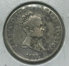 1835 S Spain 4 Reales - Scarce Silver