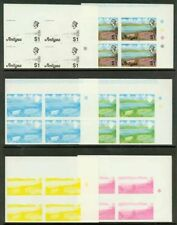 Antigua 1976 Dam $1 progressive proof blocks (x6)-1