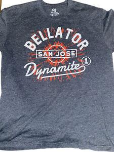 Bellator Dynamite Sz. XL  T-Shirt Tito Ortiz vs Liam McGeary  San Jose 2015 MMA