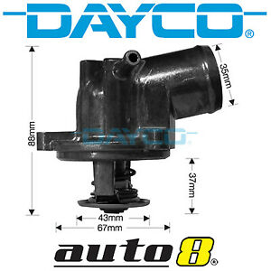 Dayco Thermostat for Mercedes Benz C180 CL203 2.0L Petrol M111.951 2001-2002