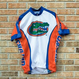 Florida Gators Cycling Jersey 3/4 Zip Short Sleeve Medium