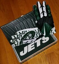 *$100* NIKE NEW YORK JETS Vapor Gloves mens L football training darnold