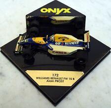 Onyx 1:43 172 Williams Renault FW 15 B, Alain Prost