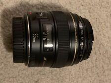 Canon EF 85mm f/1.8 USM Medium Telephoto Lens