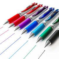 Pentel Energel BL77 Retractable Gel Pen Rollerball Pen - Single by Colour