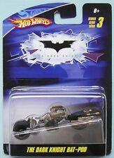 Batman Hotwheels Series 3 The Dark Knight Bat Pod from 2009 - New & Carded