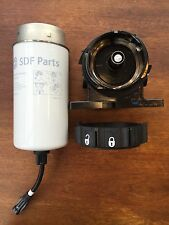 SDF Parts 0.900.0511.9 - Diesel Fuel Filter Element & Collar Lock 14L07 / 41716