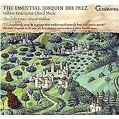 The Essential Josquin Des Prez, The Clerks' Group & Edward Wickh, Audio CD, New,