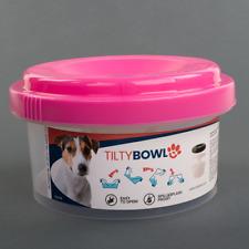 Tilty Bowl M pink Trinknapf für Hunde - Auslaufsicher