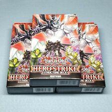 3x Yugioh Elemental Hero Strike Complete Structure Deck Shadow Mist Dark Law