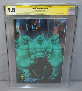 TMNT: THE LAST RONIN #1 (Aaron Bartling Linebreakers Variant Signed) CBC 9.8