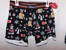 New Disney Character Mickey Mouse Pluto Men's size Small Boxer / Sleep Shorts