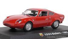 1/43 FIAT ABARTH 1000 BIALBERO 1963 NOREV HACHETTE DIECAST