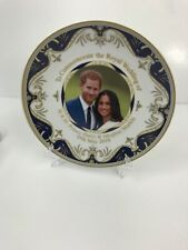Prince Harry & Maghan Markle 19th May 2018 Plate Stand 8�Royal Heritage�Open Box
