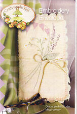 PATTERN - Embroidery Envelope - pretty sewing accessory PATTERN - Crabapple Hill