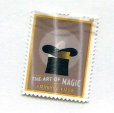 101.1.US2018 Stamp From The Art of Magic S/S, Lenticular Overlay, used off paper