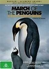 MARCH OF THE PENGUINS As Told By Morgan Freeman DVD NEW