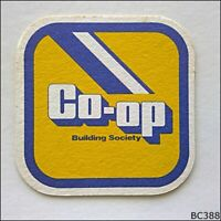 Co-op Building Society Coaster (B388)