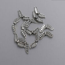 20pcs Antique silver plated little angel wing bead T0118