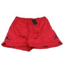 Jordan Jumpman Diamond Basketball Gym Shorts Men's 3XL Red Black NEW CZ4754-687