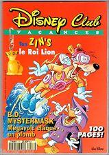 ¤ DISNEY CLUB n°17 ¤ 02/1995 ¤ PICSOU/MICKEY...