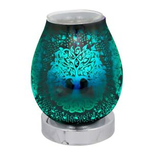 17cm LED Colour Changing, Tree of Life Oil Burner and Wax Warmer
